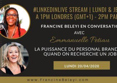 [ Formation Linkedin ] ■Cpf ■ Emmanuelle Petiau