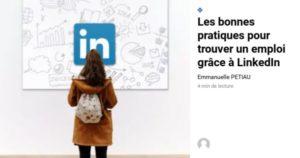 comment trouver un emploi grâce à LinkedIn